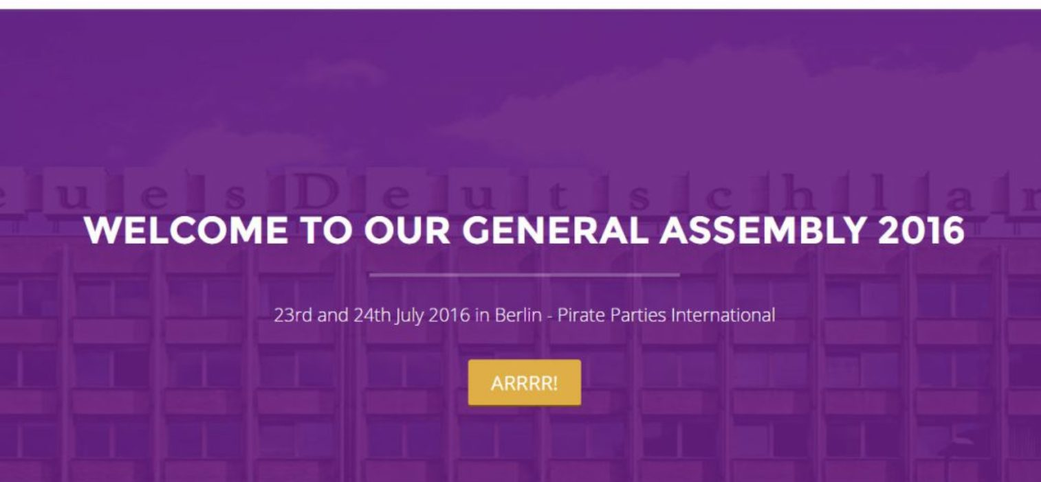 Let's take over Berlin! PPI General Assembly, Elections and turning 10!