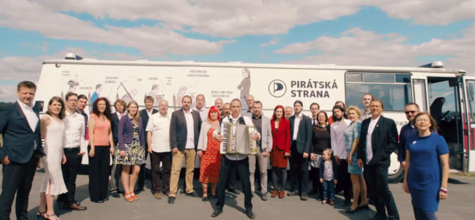 Press Release: Czech Pirates Celebrate Success in Parliamentary Elections
