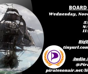 PPI board meeting Wednesday, November 11th